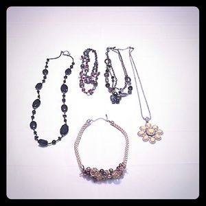 Jewelry - BUNDLE OF 5  NECKLACES